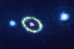 Сверхновая звезда SN 1987A, 1990