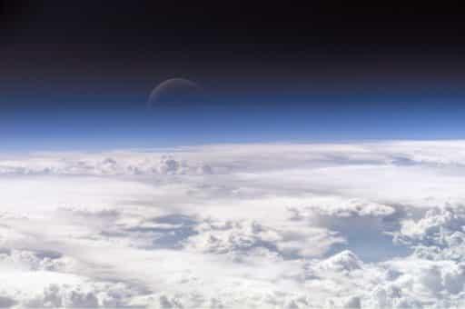 верхняя часть атмосферы Земли