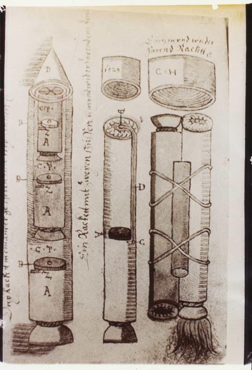 странная рукопись про ракеты