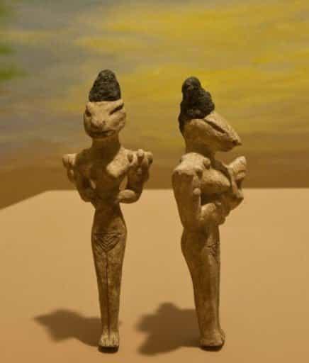 древние статуэтки шумеров