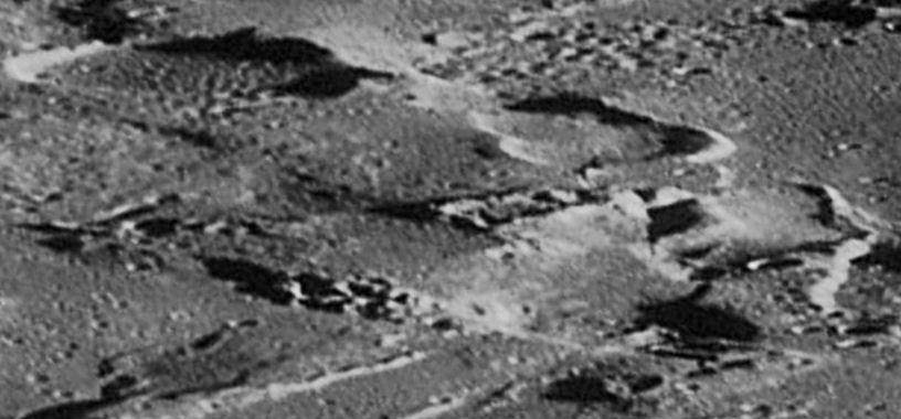 правильные структуры на Луне