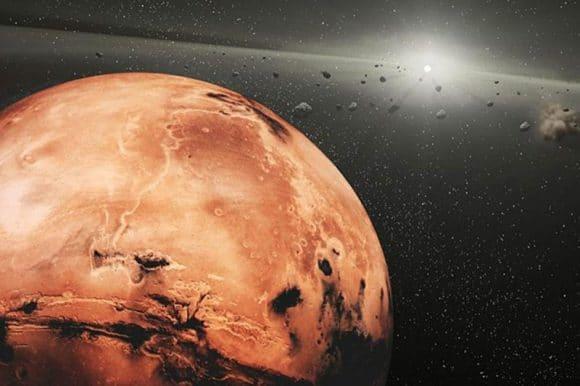 Марс и астероиды