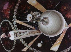 проект космической колонии