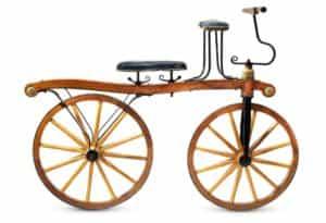 старинный велосипед