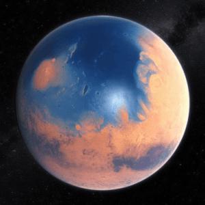 Вода для жизни на Марсе