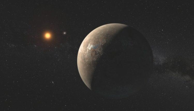Экзопланета рисунок