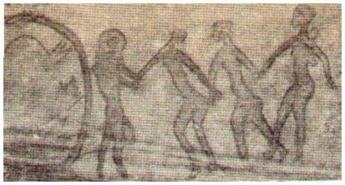 танцы древних людей