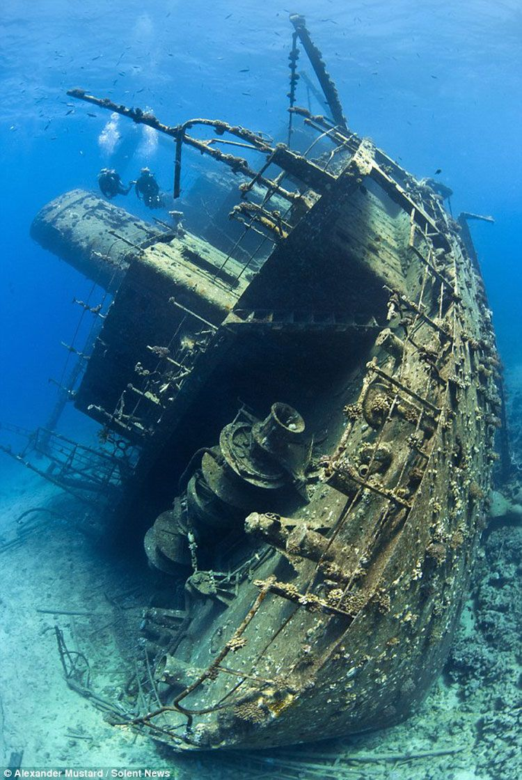 Корабль на дне