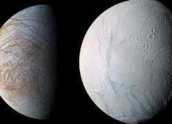 Европа и Энцелад