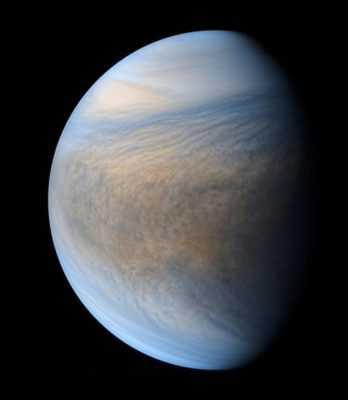 Венера в ультрафиолете