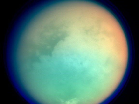 Титан атмосфера