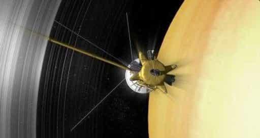 Касссини на Сатурне