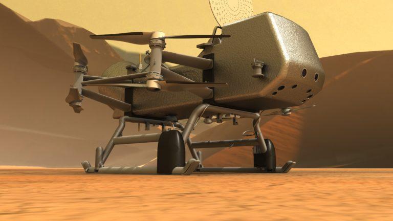новая миссия на Титане
