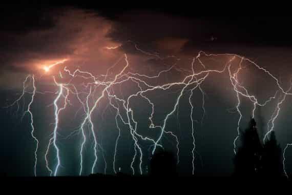 молнии в Венесуэле