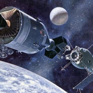 Проект «Союз-Аполлон»: Два корабля с Земли