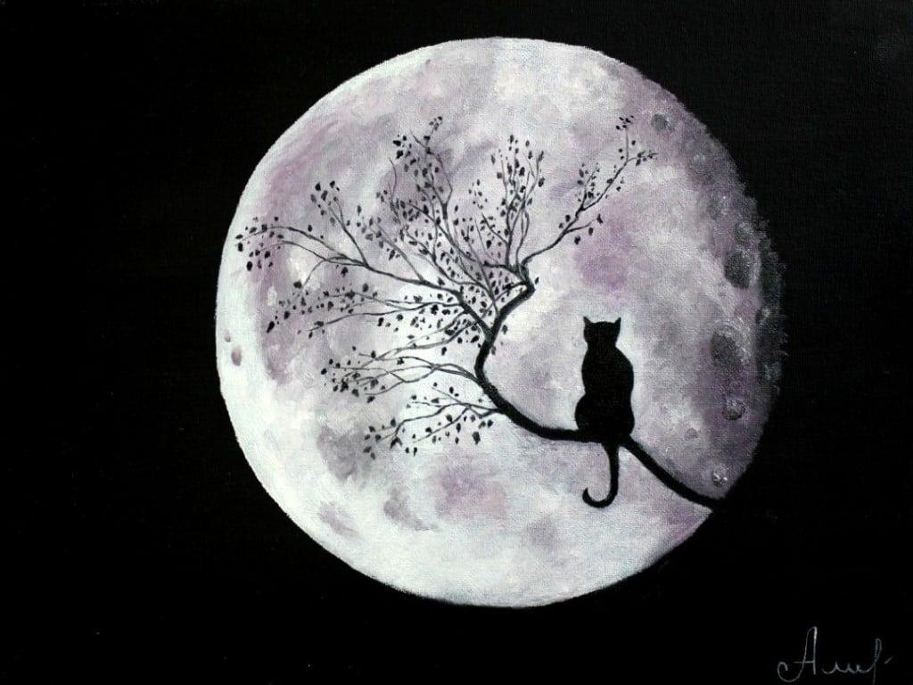 взгляд на Луну