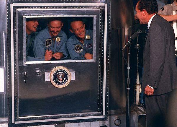 лунный карантин астронавтов