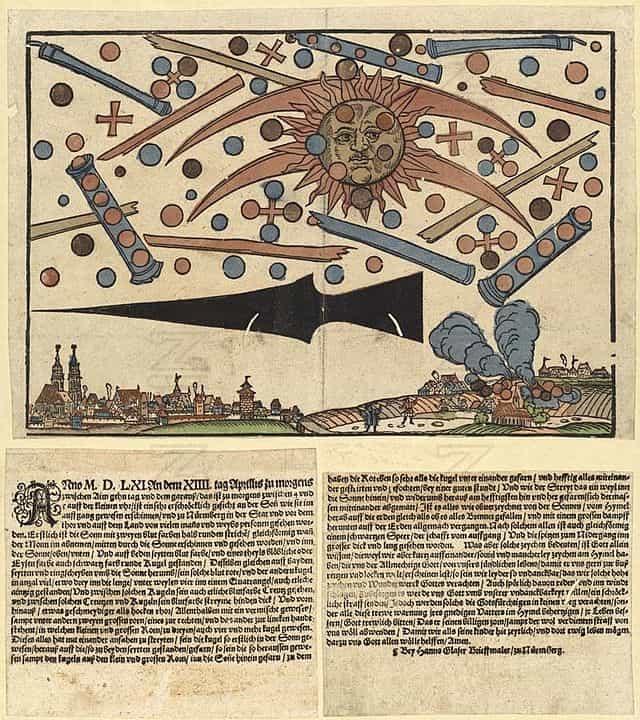 НЛО над Нюрнбергом