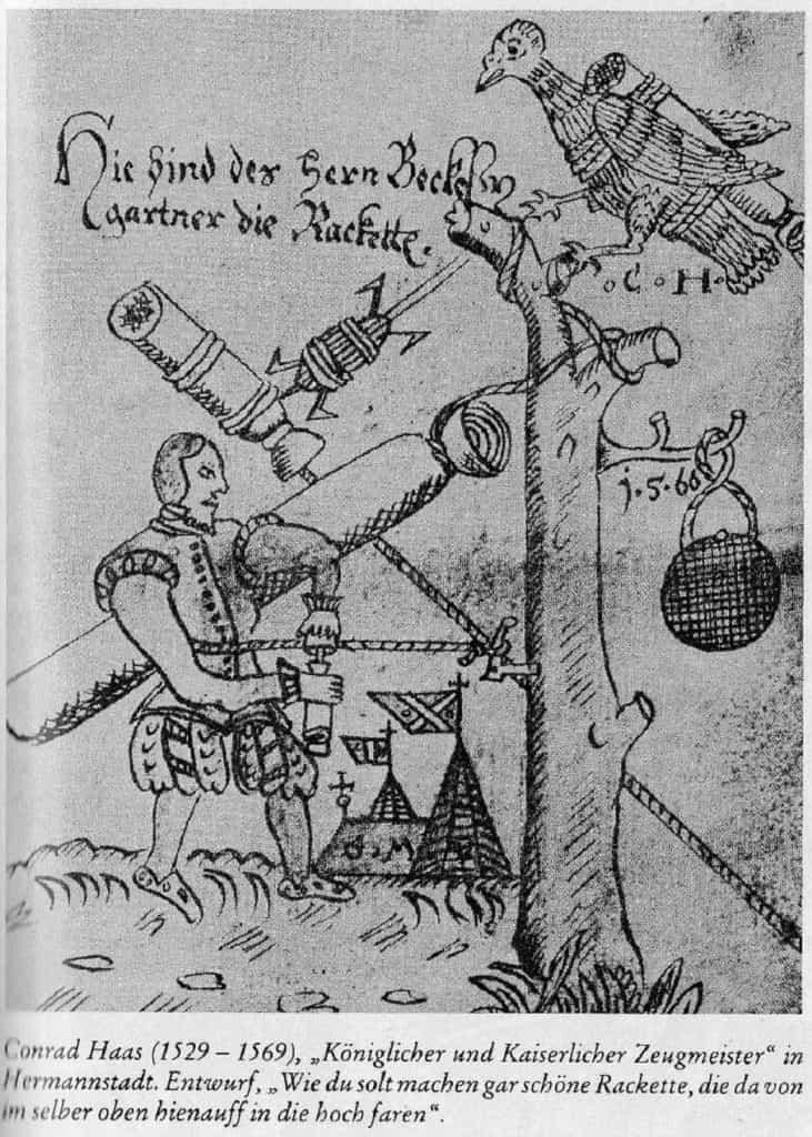 древняя рукопись про ракеты