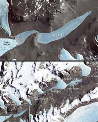 антарктика как марс