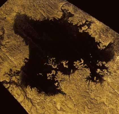 метановое озеро на Титане
