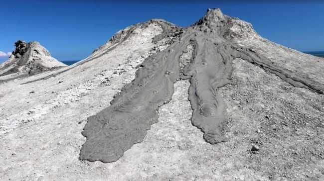 грязевые вулканы на Марсе