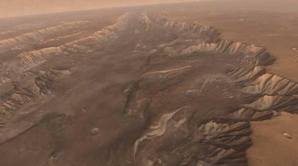 Долины Маринера. Источник: НАСА.