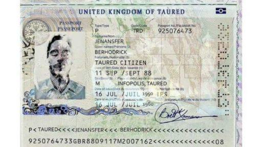 мужчина из Туареда паспорт