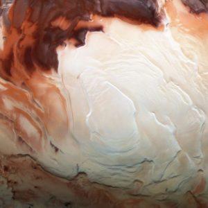 На Марсе обнаружено жидкое соленое озеро