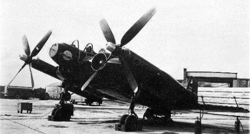 самолет Vought XF5U