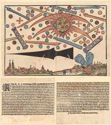 Битва НЛО в древней Германии
