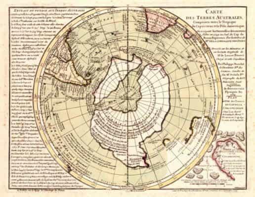 тайна карт древней Антарктиды