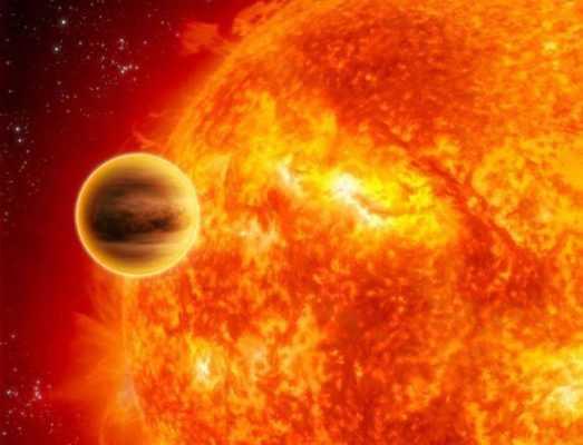 Экзопланета пред своей звездой