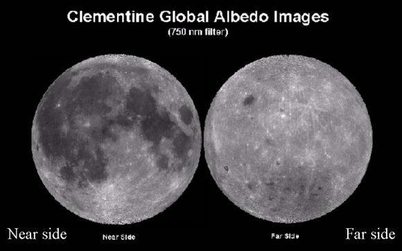 разные стороны Луны