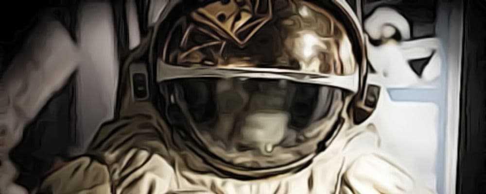 странный космонавт