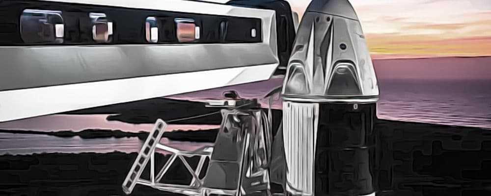SpaceX запускает в космос людей