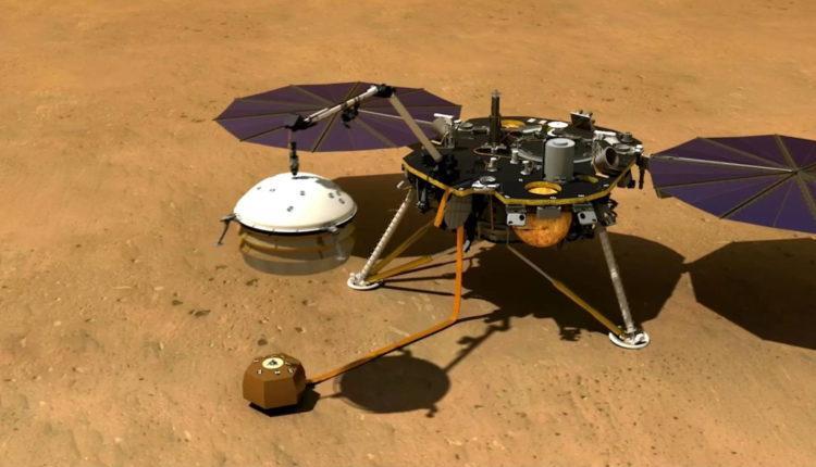InSight на Марсе