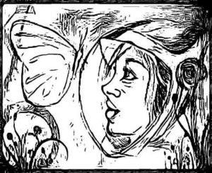 Бабочка в космосе