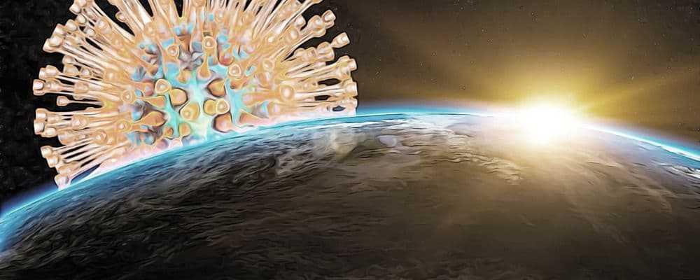 коронавирус из космоса