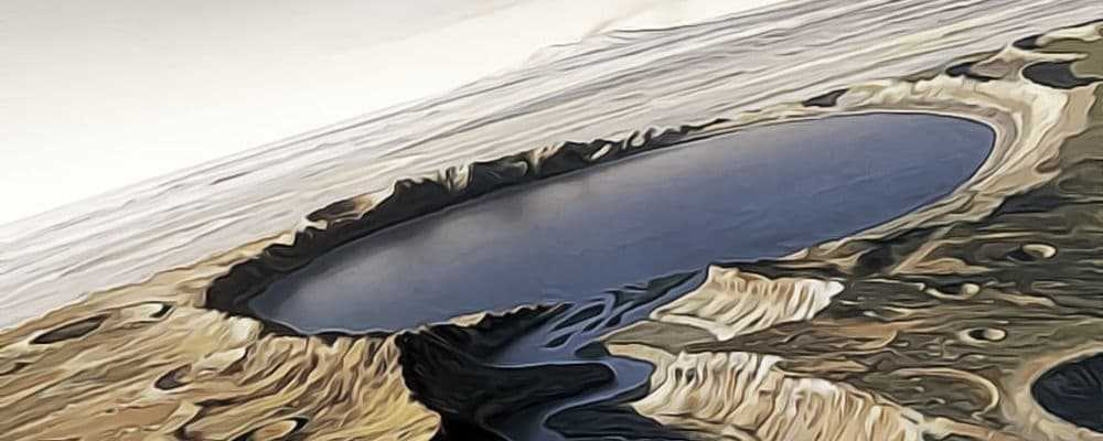 соляные водоемы Марса