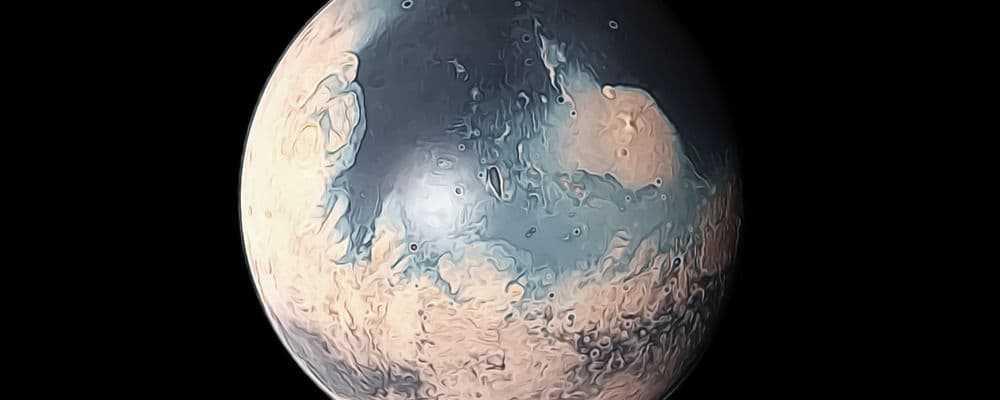 как Марс потерял воду