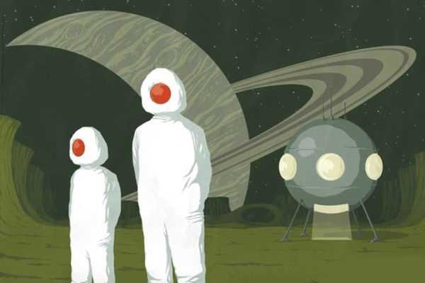 футуризм о космосе