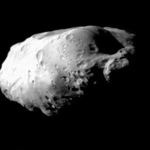 Как появились крупные спутники Сатурна?