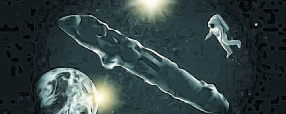 Оумуамуа и космонавт