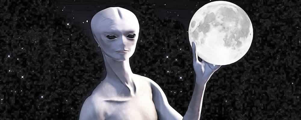 пришельцы и Луна