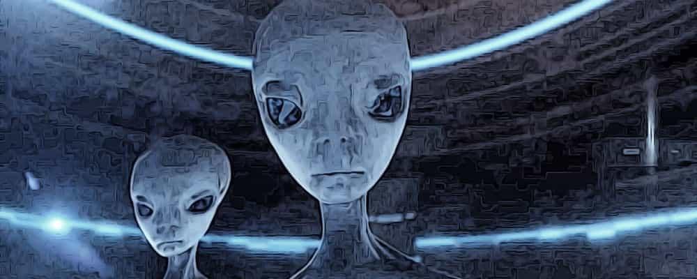 странные пришельцы