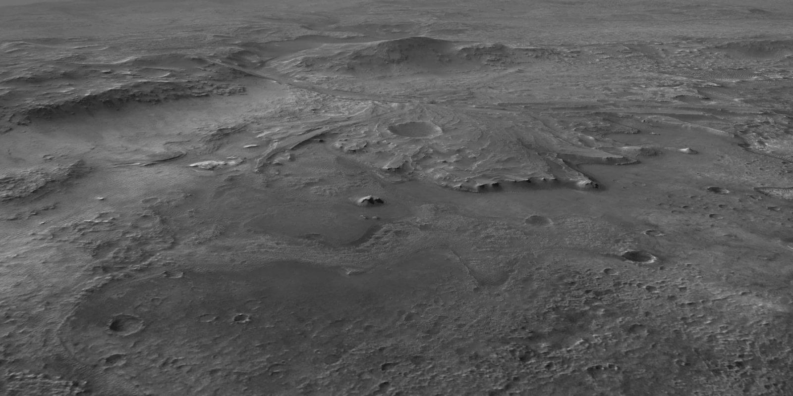 кратер Езеро