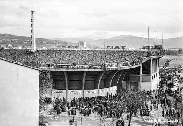 НЛО над стадионом