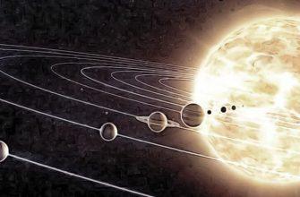 наше Солнце и планеты
