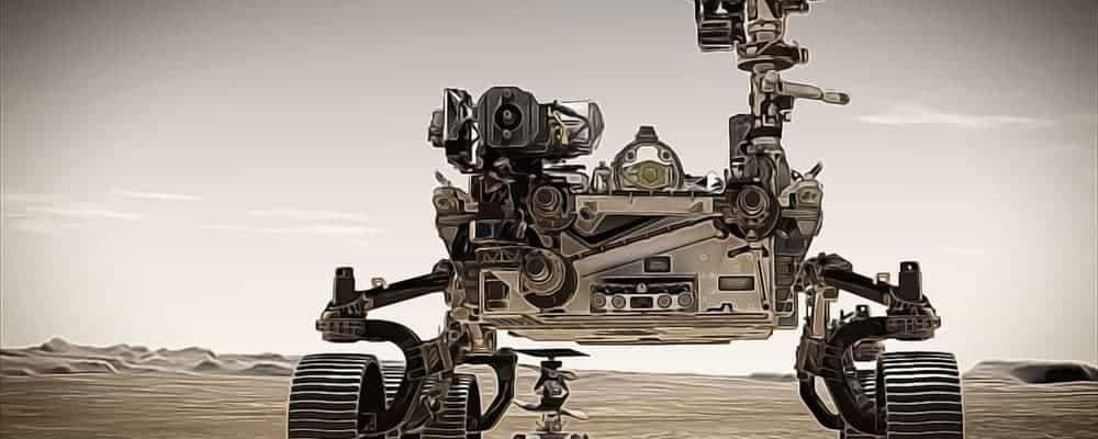в поисках жизни на Марсе